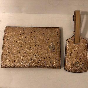 Coach hand wallet + key holder
